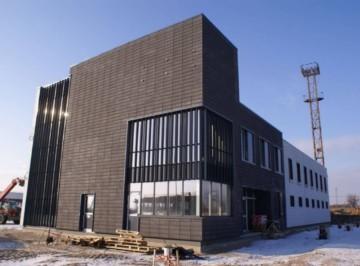 Утепление фасадов коммерческих зданий при помощи Marmoroc 2