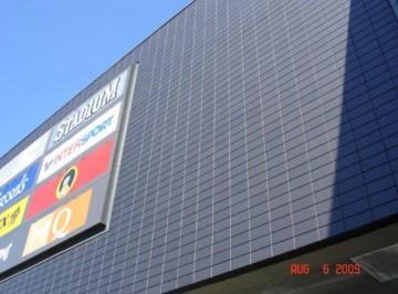 Утепление фасадов коммерческих зданий при помощи Marmoroc 6